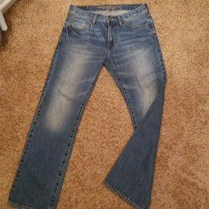 American eagle outfitters straight cut pants